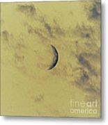 Chromatic Moon Metal Print