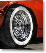 Chrome Bullets Metal Print