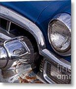 Chrome Inside Chrome On Rust   #4780 Metal Print