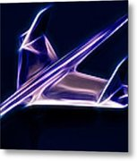 Chrome Jet Metal Print by Phil 'motography' Clark
