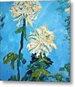 Chrysanthemum Floral Metal Print