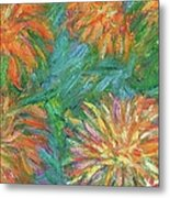 Chrysanthemum Shift Metal Print