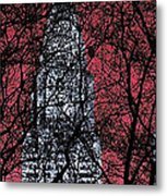 Chrysler Building 8 Metal Print