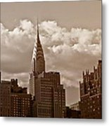 Chrysler Building And The New York City Skyline Metal Print