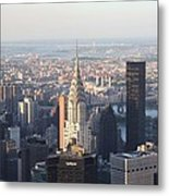 Chrysler Building From The Empire State Building Metal Print