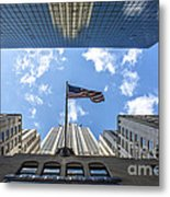 Chrysler Building Reflections Horizontal Metal Print