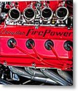 Chrysler Fire Power Metal Print