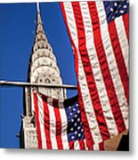 Chrysler Flags Metal Print