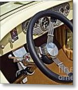 Chrysler Interior Steering Wheel Classic Car American Made Metal Print