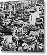 Chrysler Tank Plant Metal Print