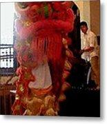 Chua Truc Lam One Man Dragon Metal Print by Shawn Lyte