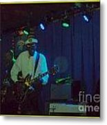Chuck Berry And Charles Berry Jr. 2 Metal Print