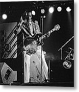 Chuck Berry At The North Sea Jazz Festival 1987 Metal Print