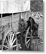 Chuck Wagon - Bw 02 Metal Print