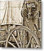Chuck Wagon Metal Print