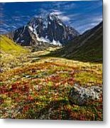 Chugach Autumn Metal Print