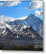 Chugach Mountain Range Metal Print