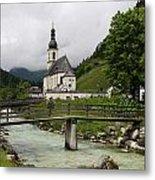 Church - Pfarrkirche St. Sebastian Metal Print