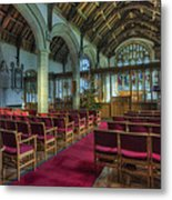 Church At Christmas V6 Metal Print