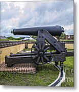Church At Fort Moultrie Metal Print