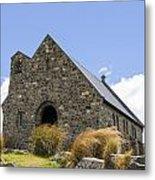 Church At Lake Tekapo Metal Print