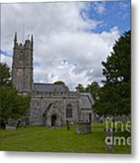 Church Avebury Uk 2 Metal Print