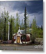 Church Beaver Creek Yukon Metal Print