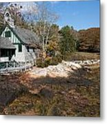 Church By The Sea Metal Print by Gordon  Grimwade