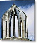 Church - Tower Bell - Luther Fine Art Metal Print