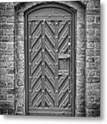 Church Door 02 Metal Print