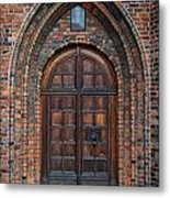 Church Door Metal Print