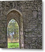Church Doorway Metal Print