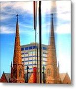 Church Downtown Denver 5074 Metal Print