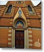 Church Entrance. Palazzolo Metal Print