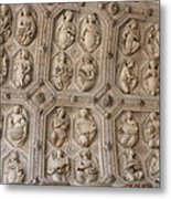 Church Frieze Metal Print