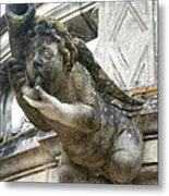 Church Gargoyle Metal Print