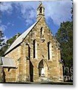 Church In Berrima A Town In Regional New South Wales Australia Metal Print