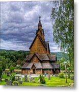 Church In Norway Metal Print