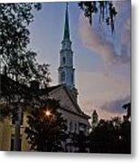 Church In Savannah Metal Print
