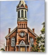 Church In Sprague Washington 2 Metal Print