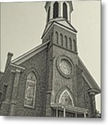 Church In Sprague Washington 4 Metal Print