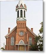 Church In Sprague Washington Metal Print