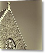 Church In Tacoma Washington 3 Metal Print