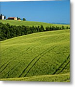 Church In The Field Metal Print by Brian Jannsen