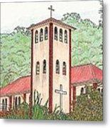 Church In The Jungle Metal Print