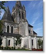 Church - Loches - France Metal Print