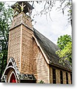 Church Of Atonement Metal Print by Steven  Taylor