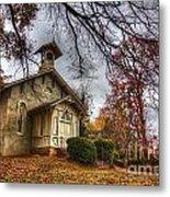 Church Of Autumn Metal Print