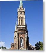 Church Of Ferencvaros In Budapest Metal Print