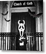 Church Of Goth Metal Print